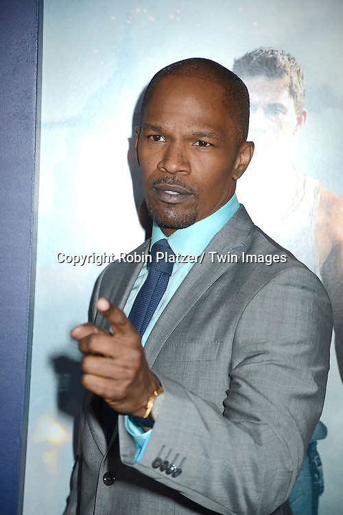 Jamie Foxx attends the Domestic Premiere of &quot;White House Down&quot;<br /> on June 25, 2013 at the Ziegfeld Theatre in New York City. The movie stars Channing Tatum and Jamie Foxx and Maggie Gyllenhaal.