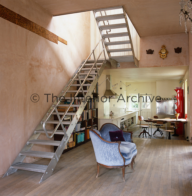 This Edwardian town house has been stripped of all its period references and turned into an open plan, contemporary home