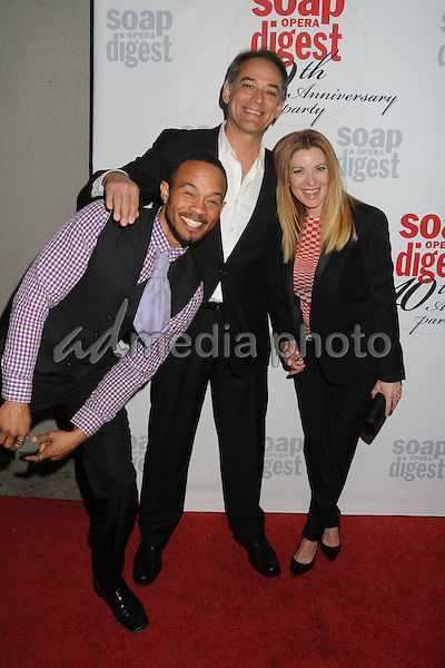 24 February 2016 - Hollywood, California - Kiko Ellsworth, Jon Lindstrom, Cady McClain. Soap Opera Digest's 40th Anniversary Event held at The Argyle Hollywood. Photo Credit: Byron Purvis/AdMedia