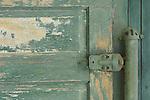 Old  garage door hinge