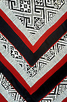 Black Thai Fabric 01 - Cushion covers made by the Black Thai people of NW Viet Nam.