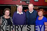 Mary and Joe O'Mahony and Michael and Eileen O'Donovan enjoyed Dickie Rock concert in the INEC Killarney last Saturday night.