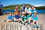 Enjoying the sunshine at the Kerry Coastal Rowing Championships in Cahersiveen on Saturday were front l-r; James Lynch, Eoghan Lynch, John, Lucy & Jill Malone, back l-r; Brid Lynch, Sarah Malone, Damien Malone & Yvonne Lynch all from Fenit.