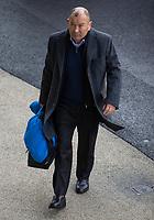 England's Head Coach Eddie Jones arrives at the ground<br /> <br /> Photographer Bob Bradford/CameraSport<br /> <br /> Guinness Six Nations Championship - England v France - Sunday 10th February 2019 - Twickenham Stadium - London<br /> <br /> World Copyright © 2019 CameraSport. All rights reserved. 43 Linden Ave. Countesthorpe. Leicester. England. LE8 5PG - Tel: +44 (0) 116 277 4147 - admin@camerasport.com - www.camerasport.com