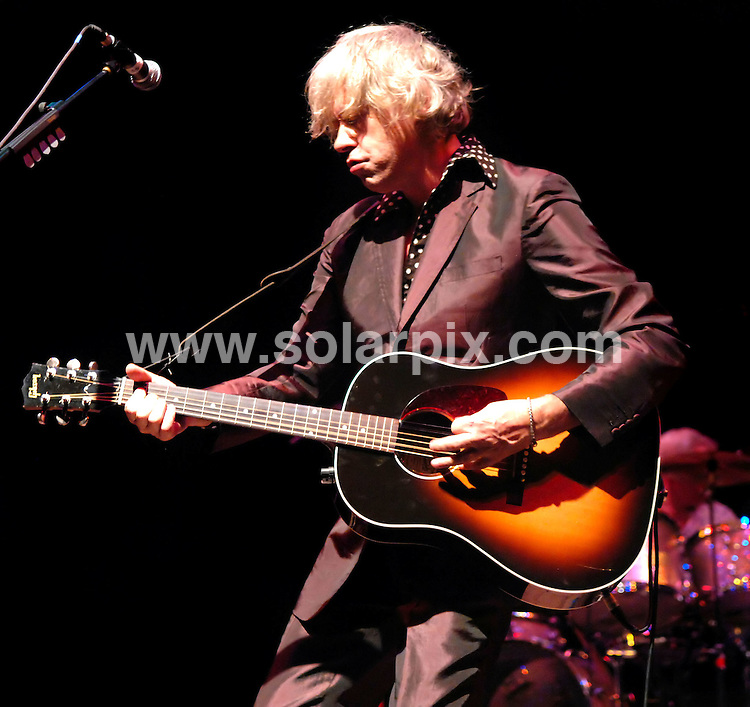 **ALL ROUND PICTURES FROM SOLARPIX.COM**                                             **WORLDWIDE SYNDICATION RIGHTS**                                                                                  Bob Geldof live at Southport Theatre on 15.09.11                                                                       This pic:    Bob Geldof                                                                                          JOB REF:    13947    NYA       DATE:   16.09.11                                                         **MUST CREDIT SOLARPIX.COM OR DOUBLE FEE WILL BE CHARGED**                                                                      **MUST AGREE FEE BEFORE ONLINE USAGE**                               **CALL US ON: +34 952 811 768 or LOW RATE FROM UK 0844 617 7637**