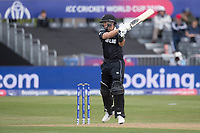 Ross Taylor (New Zealand) cuts a short delivery to point during West Indies vs New Zealand, ICC World Cup Warm-Up Match Cricket at the Bristol County Ground on 28th May 2019