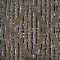 Jute, a hand-cut tumbled mosaic, shown in Cavern, is part of the Tissé™ collection for New Ravenna.