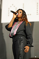 LONDON, ENGLAND - SEPTEMBER 9: Shaznay Lewis of 'All Saints' performing at BBC Radio 2 Live in Hyde Park, on September 9, 2018 in London, England.<br /> CAP/MAR<br /> &copy;MAR/Capital Pictures