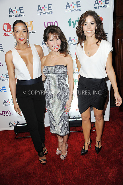 WWW.ACEPIXS.COM<br /> May 8, 2014 New York City<br /> <br /> Dania Ramirez,  Susan Lucci and Ana Ortiz attending the A+E Networks 2014 Upfronts at the Park Avenue Armory on May 8, 2014 in New York City.<br /> <br /> Please byline: Kristin Callahan<br /> <br /> ACEPIXS.COM<br /> <br /> Tel: (212) 243 8787 or (646) 769 0430<br /> e-mail: info@acepixs.com<br /> web: http://www.acepixs.com