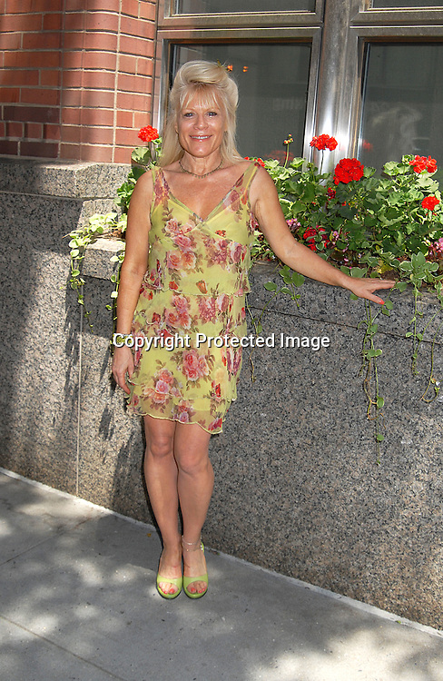Ilene Kristen..outside The One Life to Live Studio after celebrating the 10, 000th taping on July 3, 2007. Some of the ex stars were there taping scenes. ....Robin Platzer, Twin Images....212-935-0770