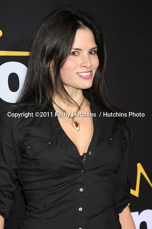 """LOS ANGELES - DEC 7:  Katrina Law arrives at the Premiere Of Encore's """"Method To The Madness Of Jerry Lewis"""" at Paramount Studios Theater on December 7, 2011 in Los Angeles, CA"""