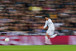 Raphael Varane of Real Madrid in action during the UEFA Champions League 2017-18 Round of 16 (1st leg) match between Real Madrid vs Paris Saint Germain at Estadio Santiago Bernabeu on February 14 2018 in Madrid, Spain. Photo by Diego Souto / Power Sport Images