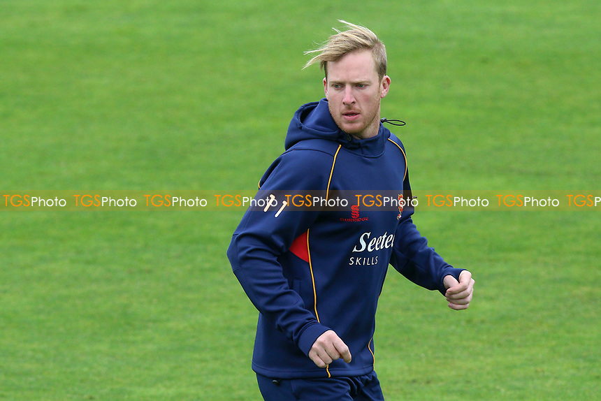 Simon Harmer of Essex warms up during Somerset CCC vs Essex CCC, Specsavers County Championship Division 1 Cricket at The Cooper Associates County Ground on 15th April 2017
