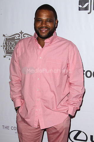 LOS ANGELES, CA - AUGUST 22: Anthony Anderson arrives at the 3rd Annual Los Angeles Food & Wine Festival Opening Night on August 22, 2013 in Los Angeles, California. Credit: Collin/RTN/MediaPunch Inc.
