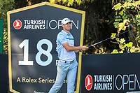 Victor Perez (FRA) during the third round of the Turkish Airlines Open, Montgomerie Maxx Royal Golf Club, Belek, Turkey. 09/11/2019<br /> Picture: Golffile | Phil INGLIS<br /> <br /> <br /> All photo usage must carry mandatory copyright credit (© Golffile | Phil INGLIS)