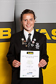 Football Girls winner Nadia Pearl from Avondale College. ASB College Sport Young Sportsperson of the Year Awards held at Eden Park, Auckland, on November 11th 2010.