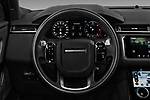 Car pictures of steering wheel view of a 2018 Land Rover Range-Rover-Velar Dynamic-SE 5 Door SUV Steering Wheel