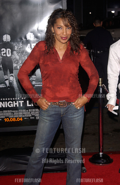Actress ARTHEL NEVILLE at the world premiere, in Hollywood, of Friday Night Lights..October 6, 2004