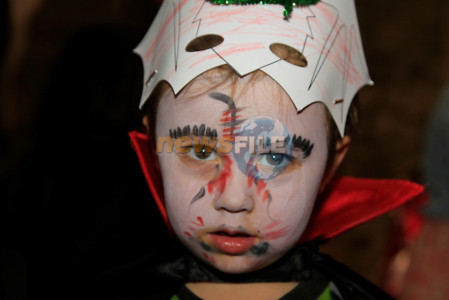 Killian Everett at the fancy dress in Scotch Hall<br /> Picture: www.newsfile.ie