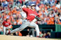 Sam Dyson (Pitcher) South Carolina Gamecocks (Photo by Tony Farlow/Four Seam Images)
