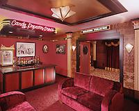 Retro Theater Candy Counter Bar