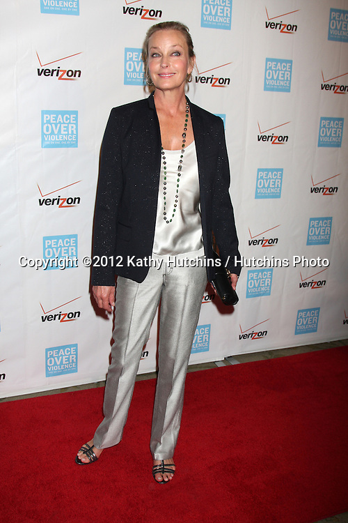 LOS ANGELES - OCT 26:  Bo Derek arrives at the 41st Annual Peace Over Violence Humanitarian Awards at Beverly Hills Hotel on October 26, 2012 in Beverly Hills, CA