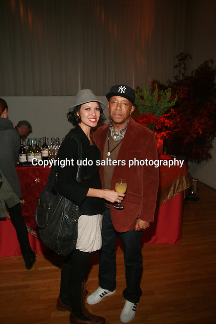 """America's Next Top Model's Claire Unabia and Russell Simmons Attend Hearts of Gold's 15th Annual Fall Fundraising Gala """"Arabian Nights!"""" Held at the Metropolitan Pavilion, NY 11/3/11"""
