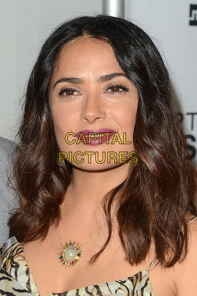 LOS ANGELES, CA - JUNE 21: Salma Hayek at the Premiere Of Momentum Pictures' Septembers Of Shiraz at The Museum Of Tolerance On June 21, 2016. <br /> CAP/MPI/DE<br /> &copy;DE/MPI/Capital Pictures