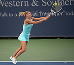 August 15,2018:   Camila Giorgi (ITA) loses to Madison Keys (USA) 6-2, 6-2, at the Western & Southern Open being played at Lindner Family Tennis Center in Mason, Ohio.  ©Leslie Billman/Tennisclix/CSM