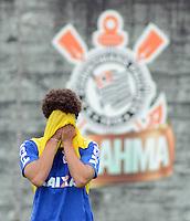 SÃO PAULO,SP, 17.01.2013 TREINO/CORINTHIANS/SP -  Alexandre Pato durante  treino do Corinthians no CT Joaquim Grava na zona leste de Sao Paulo. (Foto: Alan Morici /Brazil Photo Press).