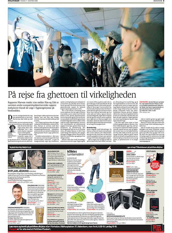 Politiken, Denmark - November 17, 2008