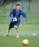 Jason Holt training with Rangers