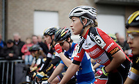 Sophie de Boer (NLD/Kalas-NNOF) at the start<br /> <br /> Jaarmarktcross Niel 2015  Elite Women's Race