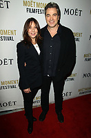5 January 2018 - Los Angeles, California - Leslie Urdang and Jon Tenney. Moet &amp; Chandon Celebrates the 3rd Annual Moet Moment Film Festival Golden Globes Week held at Poppy in Los Angeles. <br /> CAP/ADM<br /> &copy;ADM/Capital Pictures