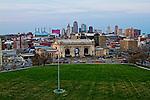 Union Station is a popular landmark in Kansas City, Missouri, USA.