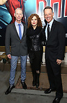 Richard Oberacker, Bernadette Peters and Robert Taylor attends the Broadway Opening Night performance of 'Bandstand' at the Bernard B. Jacobs Theatre on 4/26/2017 in New York City.