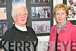 PICTURE PERFECT: Angela Walsh and Catherine Healy looking a photos of themselves at the Mitchels Regeneration Photography Exhibition at the Kerry County Library on Tuesday. .