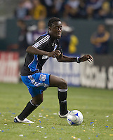 Kei Kamara, .San Jose Earthquakes vs Los Angeles Galaxy, April 4, 2008, in Carson California. The Galaxy won 2-0.
