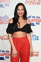 Lennon Stella<br /> at Capital's Jingle Bell Ball 2018 with Coca-Cola, O2 Arena, London<br /> <br /> ©Ash Knotek  D3465  08/12/2018