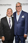 Marc Shaiman and Scott Wittman attends the Fifth Annual Broadway Back To School Gala at Edison Ballroom on September 20,22019 in New York City.