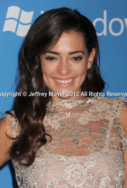WEST HOLLYWOOD, CA - SEPTEMBER 18: Natalie Martinez arrives at the CBS 2012 fall premiere party at Greystone Manor Supperclub on September 18, 2012 in West Hollywood, California.