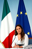 Alessandra Locatelli newly appointed Minister of Family<br /> Rome July 11th 2019. The Italian Premier presents to the press the newly appointed Ministers<br /> Foto Samantha Zucchi Insidefoto