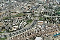 Mousetrap.  I25 and I70 freeway interchange. Denver, Colorado. Sept 2014.  815147
