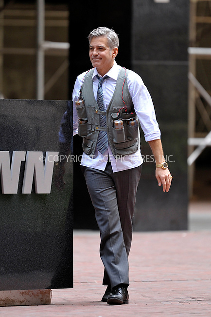 WWW.ACEPIXS.COM<br /> <br /> April 18 2015, New York City<br /> <br /> George Clooney on the set of Money Monster on April 18 2015 in New York City<br /> <br /> By Line: Curtis Means/ACE Pictures<br /> <br /> <br /> ACE Pictures, Inc.<br /> tel: 646 769 0430<br /> Email: info@acepixs.com<br /> www.acepixs.com
