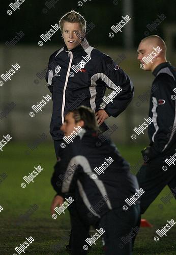 2008-01-14 / Voetbal / Verbroedering Geel / Robin Peeters..Foto: Maarten Straetemans (SMB)