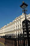 Park Square East buildings designed by John Nash, Regent's Park, London, England