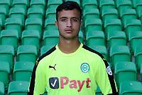 GRONINGEN - Voetbal, Presentatie FC Groningen o23, seizoen 2017-2018, 11-09-2017,   FC Groningen doelman Abdel Elouazzane