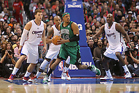 12/27/12 Los Angeles, CA: Boston Celtics small forward Paul Pierce #34 during an NBA game between the Los Angeles Clippers and the Boston Celtics played at Staples Center. The Clippers defeated the Celtics 106-77 for their 15th straight win.