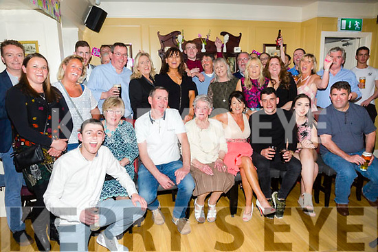 Katie McCarthy, Fenit, celebrating her 50th Birthday with family and friends at the Brogue Inn on Sunday