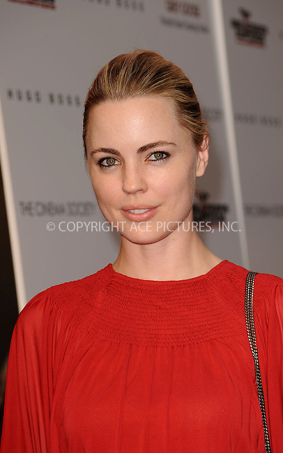 WWW.ACEPIXS.COM . . . . . ....August 17 2009, New York City....Actress Melissa George arriving at The Cinema Society & Hugo Boss screening of 'Inglourious Basterds' at the SVA Theater on August 17, 2009 in New York City.....Please byline: KRISTIN CALLAHAN - ACEPIXS.COM.. . . . . . ..Ace Pictures, Inc:  ..tel: (212) 243 8787 or (646) 769 0430..e-mail: info@acepixs.com..web: http://www.acepixs.com